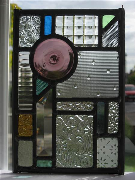 Stained Glass Modernist Style
